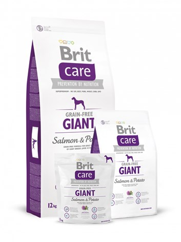 Brit Care Grain-free Giant Salmon & Potato 12kg