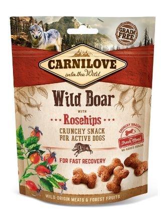 Carnilove Dog Crunchy Snack Wild Boar & Rosehips 200g