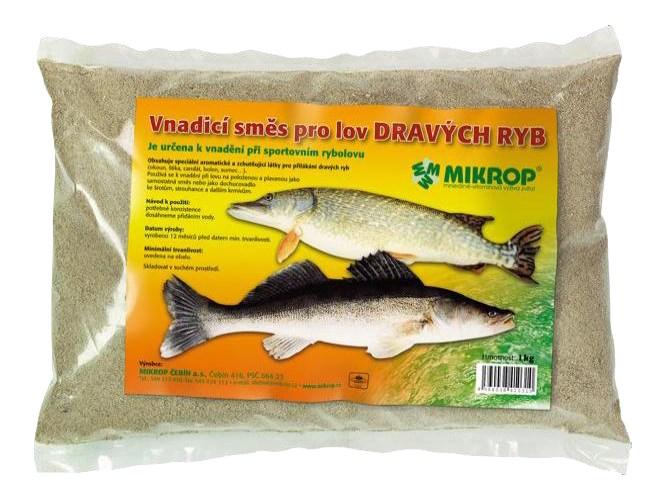 Vnadicí směs pro lov dravých ryb