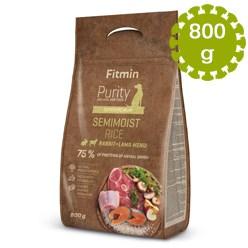FITMIN DOG PURITY RICE SEMIMOIST RABBIT& - 800g