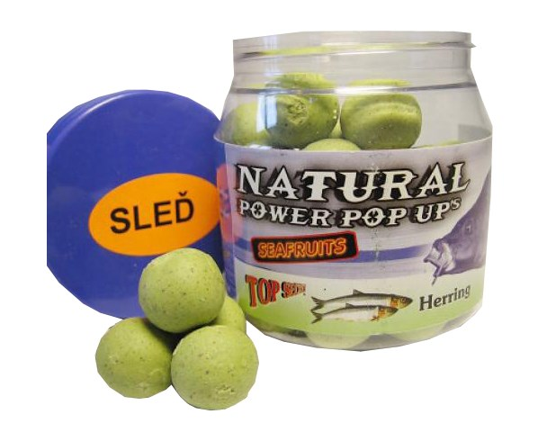 Natural power pop up s boilies 20 mm 100 g