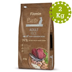FITMIN DOG PURITY RICE ADULT FISH&VENISO -  2 kg
