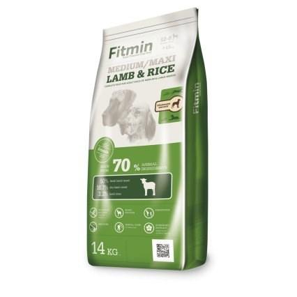 Fitmin kompletní krmivo pro psy Medium Maxi Lamb&Rice 14 kg