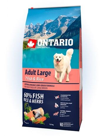 Ontario Adult Large Fish & Rice - 12kg