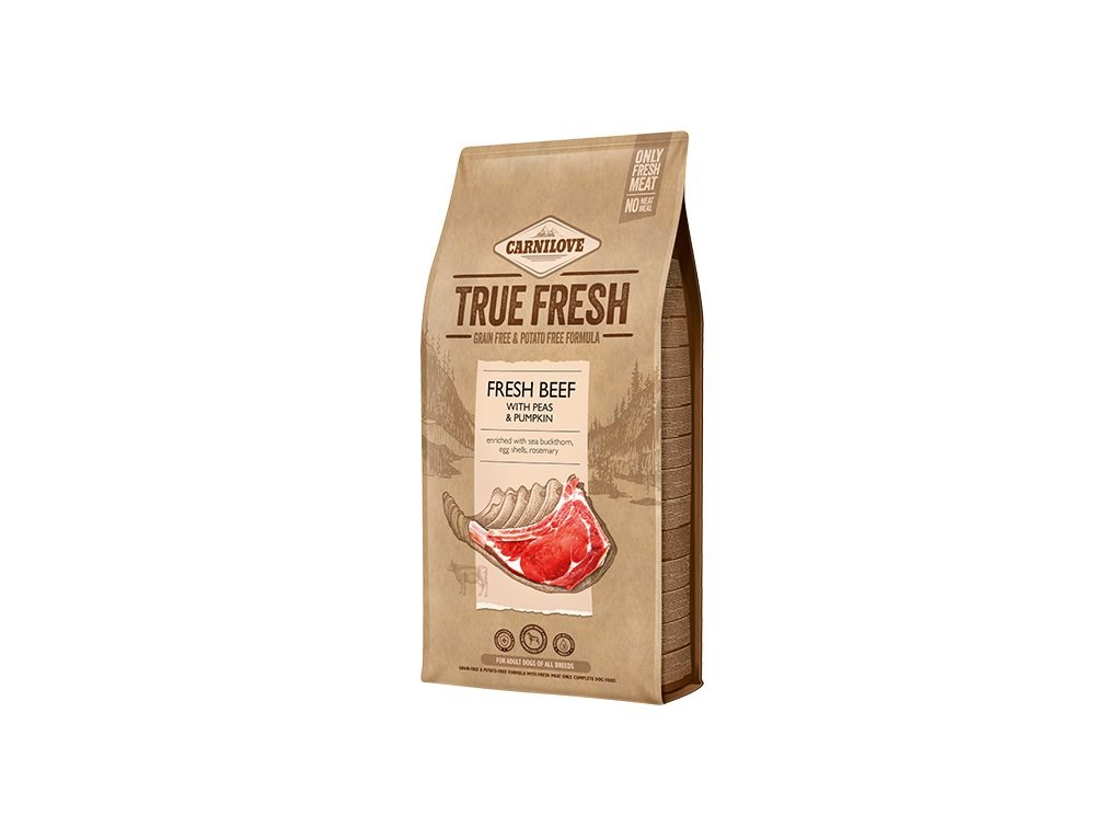Carnilove TRUE FRESH BEEF for Adult dogs 11,4 kg