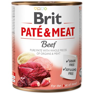 BRIT PATÉ & MEAT - BEEF 800g