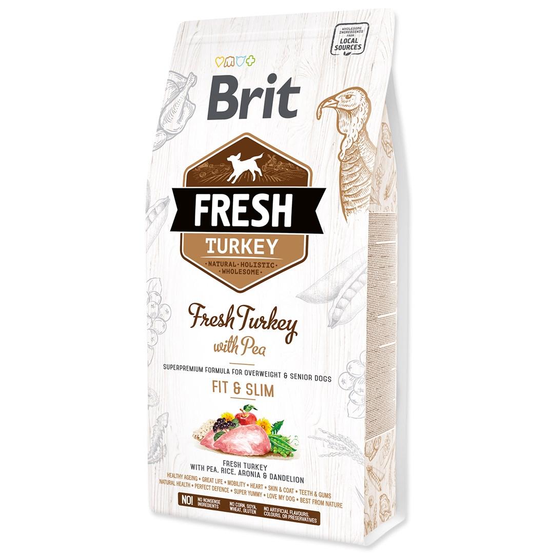 Brit Fresh Turkey with Pea Adult Fit & Slim  2,5kg