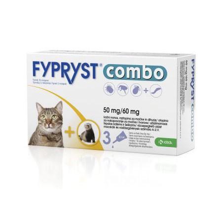 Fypryst COMBO spot on cat,fretka 1x 0,5ml 50mg/60mg