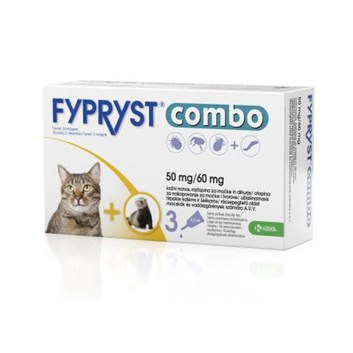 Fypryst COMBO spot on cat,fretka 1x 0,5ml 50mg/60mg