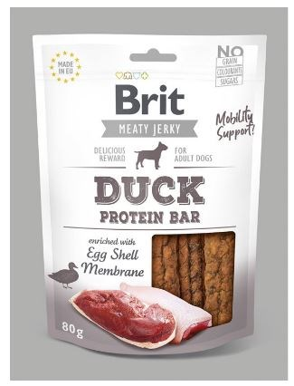 Brit Jerky Duck Protein Bar 80g