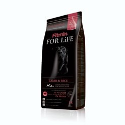 FITMIN DOG FOR LIFE LAMB & RICE -  3 kg