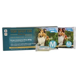 TOP SPOT-ON DOG 2ML M 15-30 KG