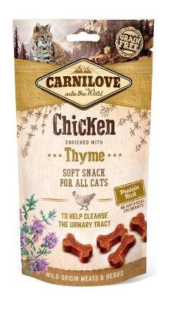 Carnilove Cat Semi Moist Snack Chicken & Thyme 50g