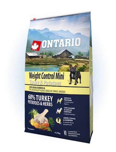 Ontario Mini Weight Control Turkey & Potatoes - 6,5
