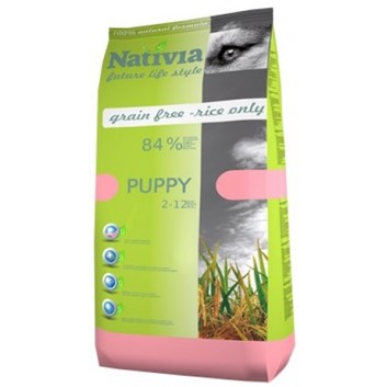 Nativia Puppy - Chicken&Rice 15 kg