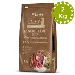 FITMIN DOG PURITY RICE SEN.&LIGHT VEN.&L - 2 kg