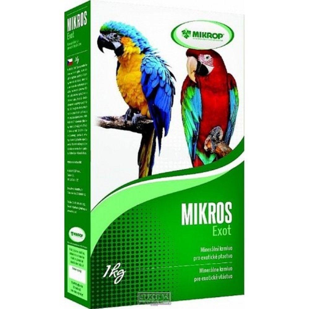 Mikrop Mikros VGE pro papoušky 1kg
