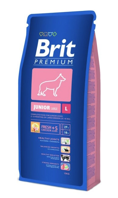 BRIT PREMIUM JUNIOR L 15kg