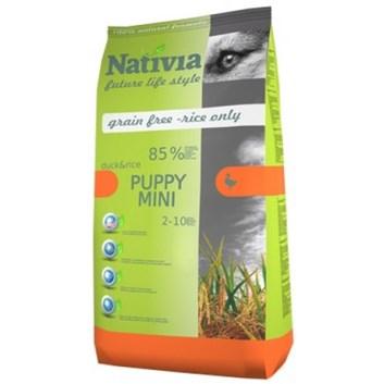 Nativia Puppy mini - Duck&Rice 3 kg