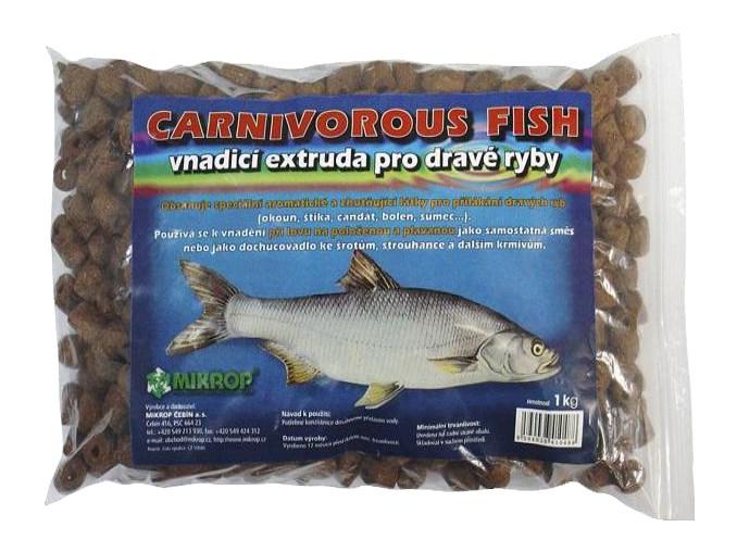 Carnivorous fish vnadicí extruda pro dravé ryby 1kg