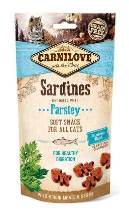 Carnilove Cat Semi Moist Snack Sardine & Parsley 50g