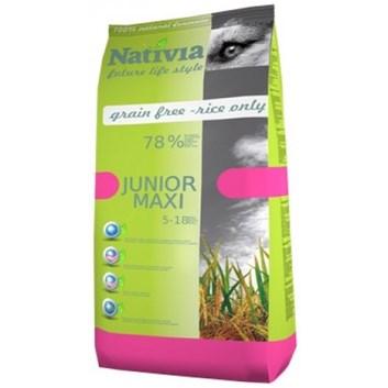 Nativia Junior maxi - Chicken&Rice 15 kg