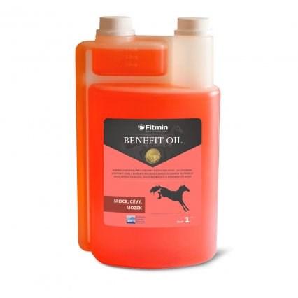 Fitmin Benefit oil lososový olej pro koně 1 l
