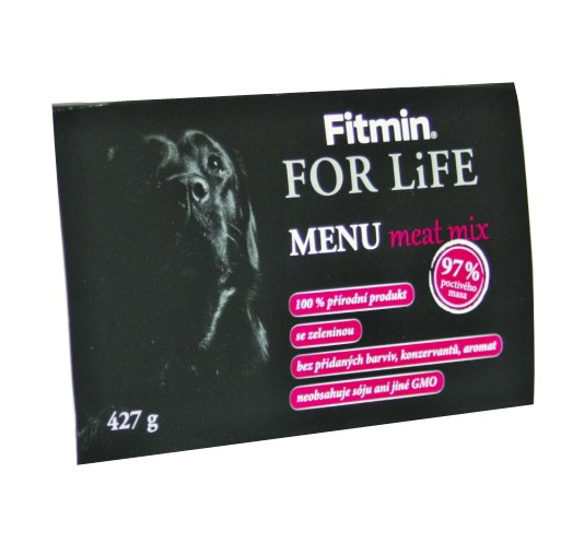 FFL dog MENU meat mix 427g