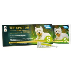 TOP SPOT-ON DOG 1ML S DO 15 KG