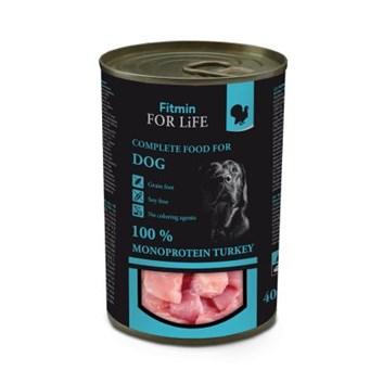 Fitmin For Life krůtí konzerva pro psy 400 g