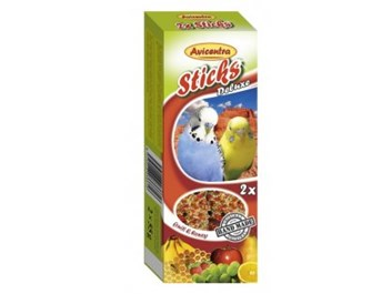Avicentra tyčinky andulka vejce + med 2ks