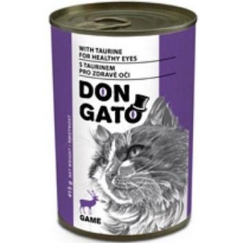 Dongato konzerva kočka zvěřinová 415g