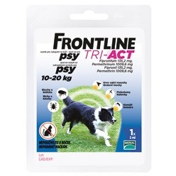 FRONTLINE TRI-ACT SPOT-ON P 10-20 KG M