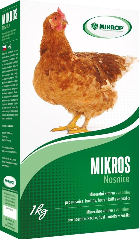 Minerálně-vitaminová doplňková krmiva VDN 1kg