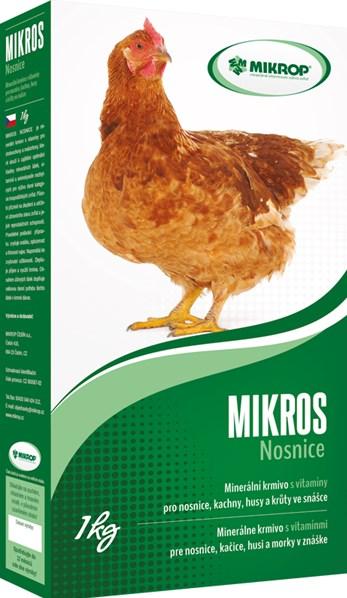 Minerálně-vitaminová doplňková krmiva VDN - 1kg