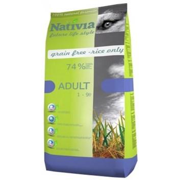 Nativia Adult - Chicken&Rice 15 kg