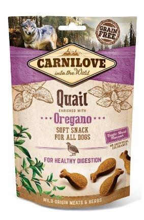 Carnilove Dog Semi Moist Snack Quail & Oregano 200g