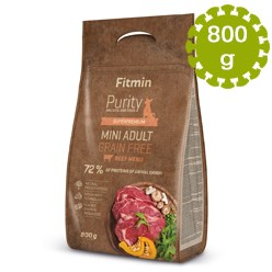 FITMIN DOG PURITY GF ADULT MINI BEEF -800g