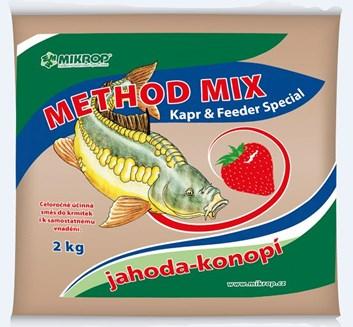 MIKROP Method mix jahoda-konopí 2kg