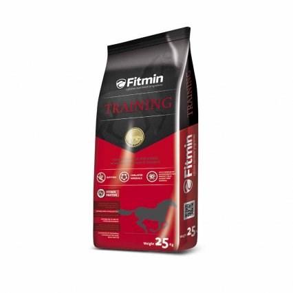 Fitmin Training granulované energetické krmivo pro koně 25 kg