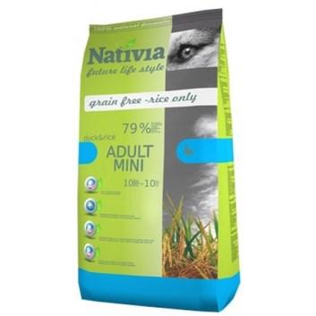Nativia Adult mini - Duck&Rice 3 kg