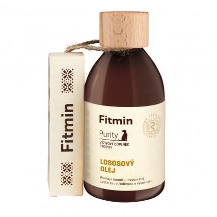 Fitmin Purity Lososový olej doplněk pro psy 300 ml