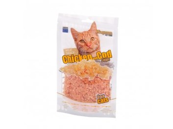 Magnum chicken & cod chips for cats 70g