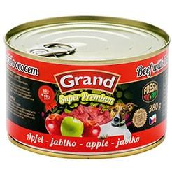 GRAND SUPER HOVĚZÍ + JABLKO 380G