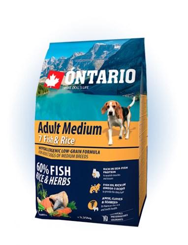 Ontario Adult Medium Fish & Rice - 2,25