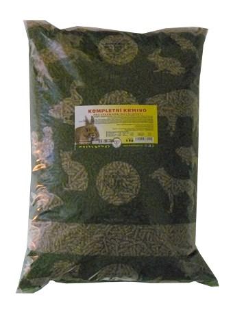 Krmivo pro králiky s kok.(léčivy) 5kg