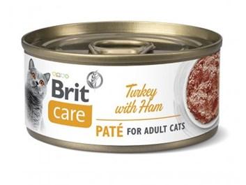 Brit Care Cat Turkey Paté with Ham 70g