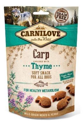 Carnilove Dog Semi Moist Snack Carp & Thyme 200g