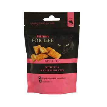 Fitmin For Life Tuňákové polštářky se sýrem pochoutka pro kočky 50 g