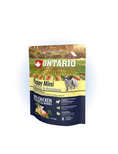 Ontario Puppy Mini Chicken & Potatoes  - 0,75 kg